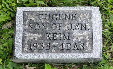 KEIM, EUGENE - Holmes County, Ohio | EUGENE KEIM - Ohio Gravestone Photos