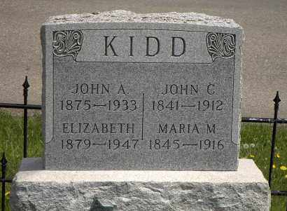 MCDONALD KIDD, ELIZABETH - Holmes County, Ohio | ELIZABETH MCDONALD KIDD - Ohio Gravestone Photos