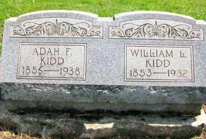 KIDD, ADAH F. - Holmes County, Ohio | ADAH F. KIDD - Ohio Gravestone Photos