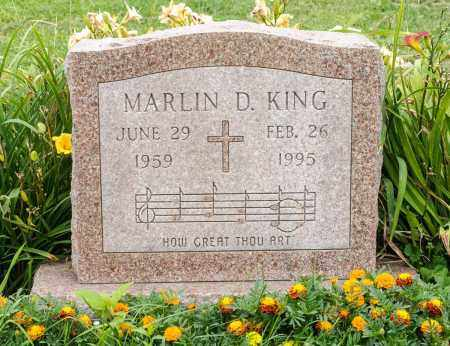 KING, MARLIN D. - Holmes County, Ohio | MARLIN D. KING - Ohio Gravestone Photos