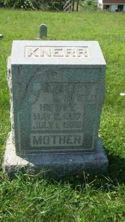 KNERR, ELIZABETH - Holmes County, Ohio | ELIZABETH KNERR - Ohio Gravestone Photos