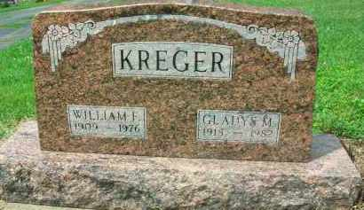 KREGER, WILLIAM F. - Holmes County, Ohio | WILLIAM F. KREGER - Ohio Gravestone Photos
