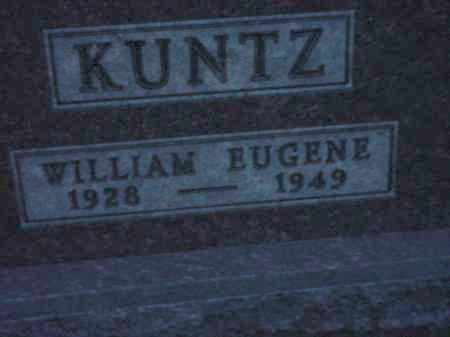 KUNTZ, WILLIAM EUGENE - Holmes County, Ohio | WILLIAM EUGENE KUNTZ - Ohio Gravestone Photos