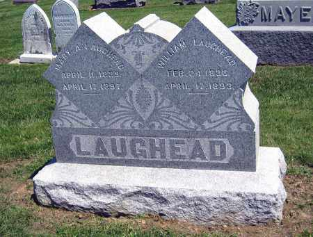 LAUGHEAD, MARY A. - Holmes County, Ohio | MARY A. LAUGHEAD - Ohio Gravestone Photos