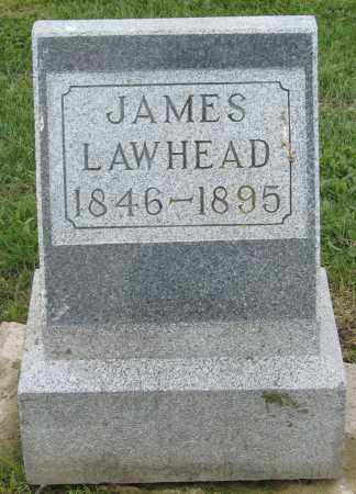 LAWHEAD, JAMES - Holmes County, Ohio | JAMES LAWHEAD - Ohio Gravestone Photos
