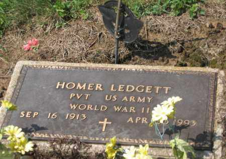 LEDGETT, HOMER - Holmes County, Ohio | HOMER LEDGETT - Ohio Gravestone Photos