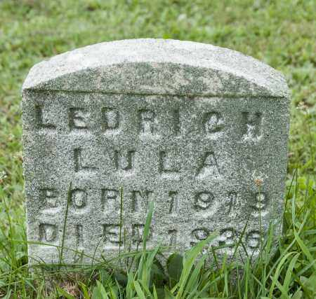 LEDRICH, LULA - Holmes County, Ohio | LULA LEDRICH - Ohio Gravestone Photos