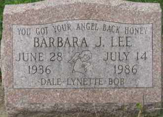 LEE, BARBARA J. - Holmes County, Ohio | BARBARA J. LEE - Ohio Gravestone Photos