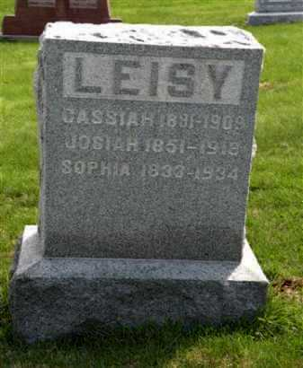 LEISY, JOSIAH - Holmes County, Ohio | JOSIAH LEISY - Ohio Gravestone Photos