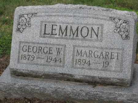 LEMMON, GEORGE W. - Holmes County, Ohio | GEORGE W. LEMMON - Ohio Gravestone Photos
