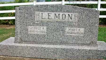 LEMON, MARY E. - Holmes County, Ohio | MARY E. LEMON - Ohio Gravestone Photos