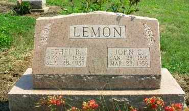 LEMON, ETHEL B. - Holmes County, Ohio | ETHEL B. LEMON - Ohio Gravestone Photos