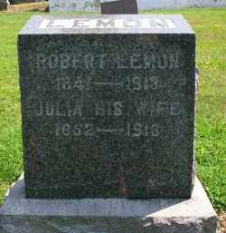 LEMON, JULIA - Holmes County, Ohio | JULIA LEMON - Ohio Gravestone Photos