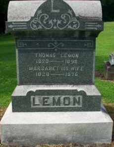 LEMON, THOMAS - Holmes County, Ohio | THOMAS LEMON - Ohio Gravestone Photos