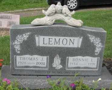 LEMON, THOMAS J. - Holmes County, Ohio | THOMAS J. LEMON - Ohio Gravestone Photos