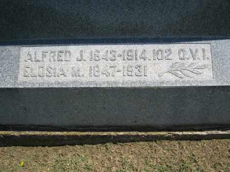 LEWIS, ALFRED J. - Holmes County, Ohio | ALFRED J. LEWIS - Ohio Gravestone Photos