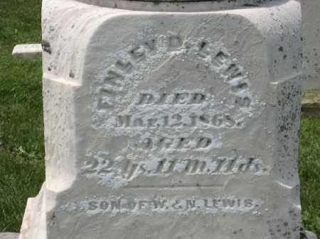 LEWIS, FINLEY D. - Holmes County, Ohio | FINLEY D. LEWIS - Ohio Gravestone Photos