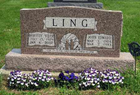 LING, JOHN EDWARD - Holmes County, Ohio | JOHN EDWARD LING - Ohio Gravestone Photos