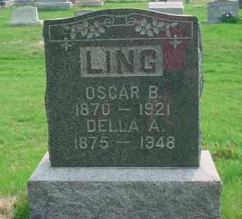 MULLET LING, DELLA A - Holmes County, Ohio | DELLA A MULLET LING - Ohio Gravestone Photos