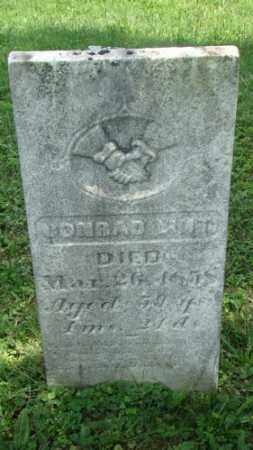 LINT, CONRAD - Holmes County, Ohio | CONRAD LINT - Ohio Gravestone Photos