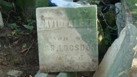 LOGDSON, DAVID ALLEN - Holmes County, Ohio | DAVID ALLEN LOGDSON - Ohio Gravestone Photos