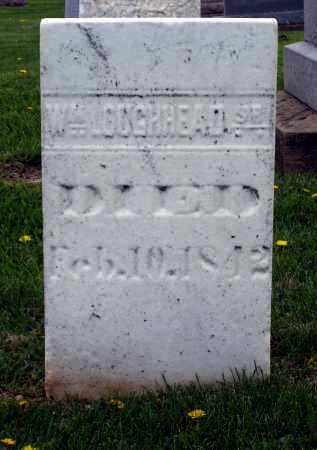 LOUGHHEAD, WM SR - Holmes County, Ohio   WM SR LOUGHHEAD - Ohio Gravestone Photos