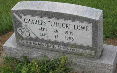 "LOWE, CHARLES ""CHUCK"" - Holmes County, Ohio | CHARLES ""CHUCK"" LOWE - Ohio Gravestone Photos"