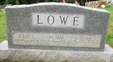 LOWE, N. MAE - Holmes County, Ohio | N. MAE LOWE - Ohio Gravestone Photos