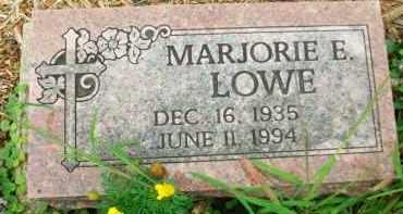 LOWE, MARJORIE E. - Holmes County, Ohio | MARJORIE E. LOWE - Ohio Gravestone Photos