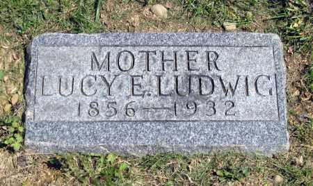 LUDWIG, LUCY E. - Holmes County, Ohio | LUCY E. LUDWIG - Ohio Gravestone Photos