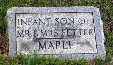 MAPLE, INFANT SON - Holmes County, Ohio | INFANT SON MAPLE - Ohio Gravestone Photos
