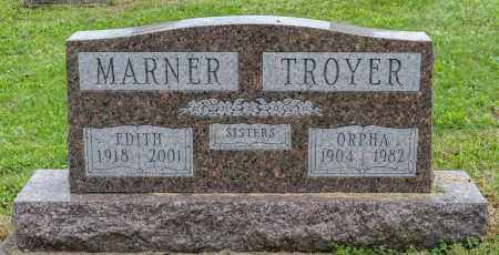 TROYER MARNER, EDITH - Holmes County, Ohio | EDITH TROYER MARNER - Ohio Gravestone Photos