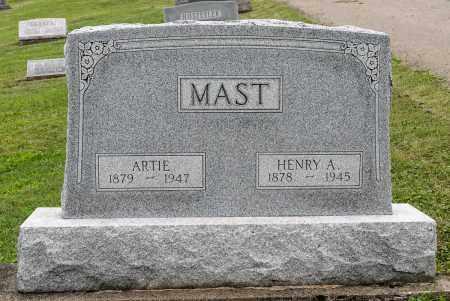MAST, ARTIE - Holmes County, Ohio | ARTIE MAST - Ohio Gravestone Photos