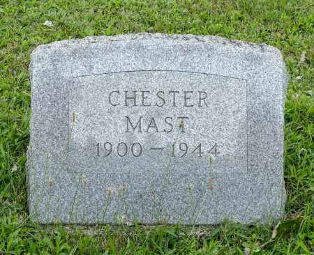 MAST, CHESTER - Holmes County, Ohio | CHESTER MAST - Ohio Gravestone Photos