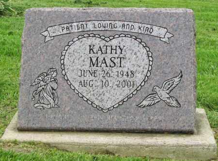 MAST, KATHY - Holmes County, Ohio | KATHY MAST - Ohio Gravestone Photos