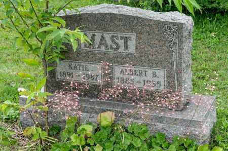 MAST, KATIE - Holmes County, Ohio | KATIE MAST - Ohio Gravestone Photos