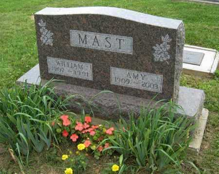 MAST, AMY - Holmes County, Ohio | AMY MAST - Ohio Gravestone Photos