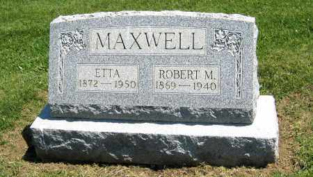MAXWELL, ROBERT M. - Holmes County, Ohio | ROBERT M. MAXWELL - Ohio Gravestone Photos