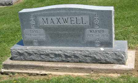 MAXWELL, WARNER - Holmes County, Ohio | WARNER MAXWELL - Ohio Gravestone Photos