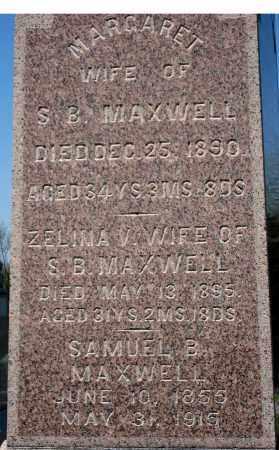 MAXWELL, MARGARET - Holmes County, Ohio | MARGARET MAXWELL - Ohio Gravestone Photos