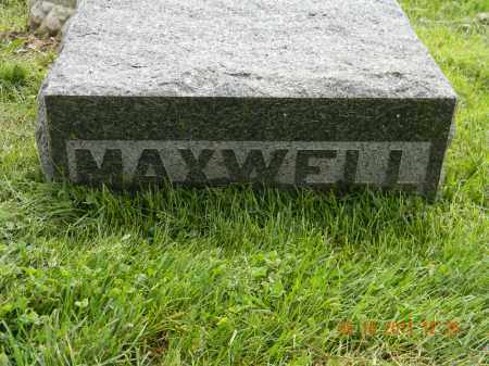MAXWELL, MONUMENT - Holmes County, Ohio | MONUMENT MAXWELL - Ohio Gravestone Photos