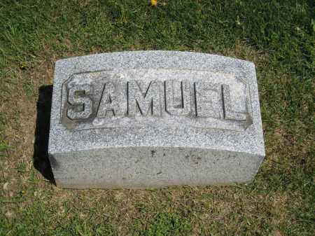 MAXWELL, SAMUEL - Holmes County, Ohio | SAMUEL MAXWELL - Ohio Gravestone Photos