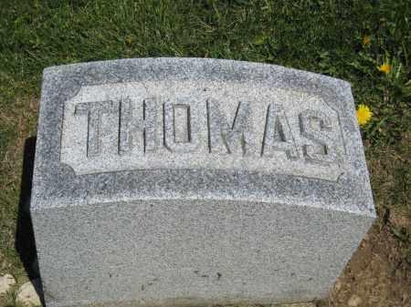 MAXWELL, THOMAS - Holmes County, Ohio | THOMAS MAXWELL - Ohio Gravestone Photos