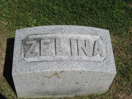 MAXWELL, ZELINA - Holmes County, Ohio | ZELINA MAXWELL - Ohio Gravestone Photos