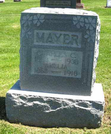 MAYER, AMELIA - Holmes County, Ohio | AMELIA MAYER - Ohio Gravestone Photos