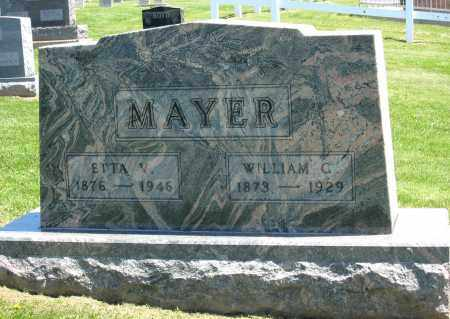 MAYER, WILLIAM C. - Holmes County, Ohio | WILLIAM C. MAYER - Ohio Gravestone Photos