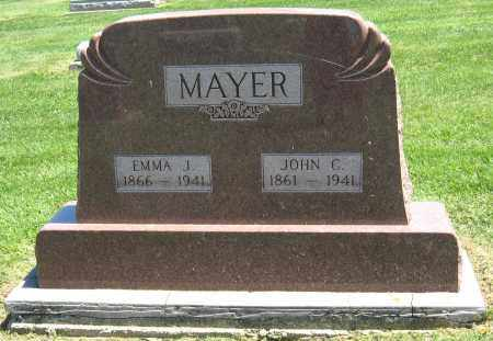 MAYER, EMMA J. - Holmes County, Ohio | EMMA J. MAYER - Ohio Gravestone Photos