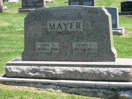MAYER, HENRY C. - Holmes County, Ohio | HENRY C. MAYER - Ohio Gravestone Photos