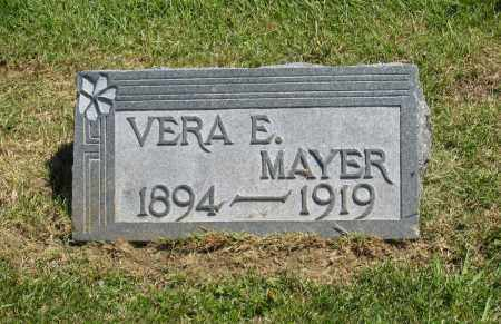 MAYER, VERA E. - Holmes County, Ohio | VERA E. MAYER - Ohio Gravestone Photos