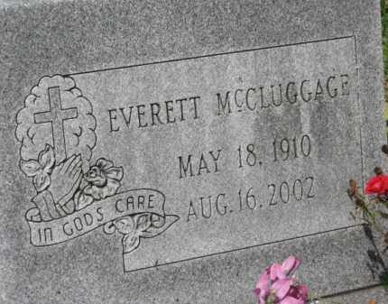 MCCLUGGAGE, EVERETT - Holmes County, Ohio | EVERETT MCCLUGGAGE - Ohio Gravestone Photos